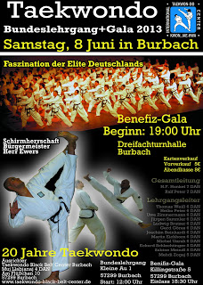 Bundeslehrgang in Burbach 08.06.2013