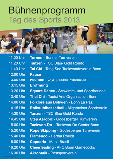 Tag des Sports in Bonn